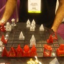 Лазерные шахматы на Bookexpo America 2011