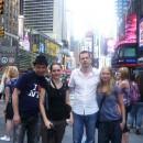 Российская делегация Bookexpo America 2011 на нью-йоркской Таймс-сквер