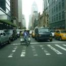 Нью-йоркский велорикша