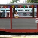 ''Не страшны нам с книжкой расстояния''.  Детская железная дорога. Автор Харито