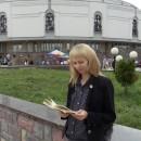 На фоне нижегородского цирка. Автор Царьков Евгений