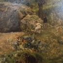 И.И. Левитан. Крымский пейзаж. Фрагмент. 1887 г.. Фоторепродукция Татьяны Шепеле
