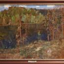И.И. Левитан. Озеро в лесу. Конец 1890. Дар Ф.Е. и Е.Ф. Вишневских. Фото Татьян