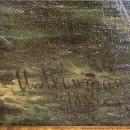 И.И. Левитан. Тростники и кувшинки. Автограф художника. 1889 г.. Фото Татьяны Ше