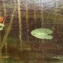 И.И. Левитан. Тростники и кувшинки. Фрагмент. 1889 г.. Фото Татьяны Шепелевой