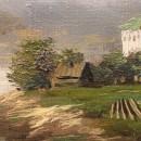 И.И. Левитан. Волга. Фрагмент. 1889 г. Дар Ф.Е. Вишневского, Москва. Фото Татьян
