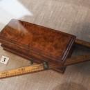 Складной аршин и коробочка для почтовых марок. Из личных вещей И.И. Левитана. Фо