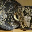 Чайная пара ''Муми-тролли''. Автор Светлана Сахарова. Фото Татьяны Шепелевой