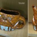 Заварочный чайник ''Бульдог''. Автор Светлана Сахарова. Фото Татьяны Шепелевой