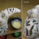 Слон. Шамот (фр. chamotte) – огнеупорная глина. Автор Светлана Сахарова. Фото Та