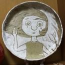 Тарелка из мультфильма  ''Волны гасят ветер''. Автор Светлана Сахарова. Фото Тат