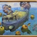 Рыба-кот. Холст, масло. 2011 год. Фото Татьяны Шепелевой