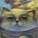 Рыба-кот. Фрагмент. Холст, масло. 2011 год. Фото Татьяны Шепелевой