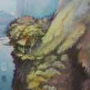 Волшебный остров. Фрагмент. Холст, масло. 2007 год. Фото Татьяны Шепелевой