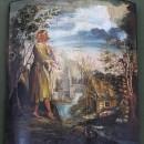 Алексей, человек Божий. Начало XIX века. Государственный музей Палехского искусс