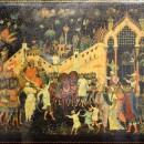 Баканов И.М. Золотой петушок. 1934 г. Государственный музей Палехского искусства
