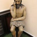 Деревянная статуя Иисуса Христа. Государственный музей Палехского искусства. Фот