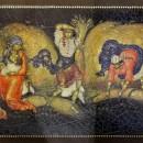 Дыдыкин А.А. Жнеи. 1933 г. Государственный музей Палехского искусства. Фото Тать