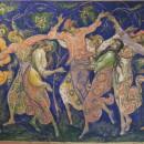 Панно на стене Государственного музея Палехского искусства. Фото Татьяны Шепелев