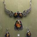 Набор женских украшений ''Жар-птица''. Государственный музей Палехского искусств