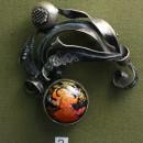 Брошь. Государственный музей Палехского искусства. Фото Татьяны Шепелевой