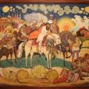 Дыдыкин А.А. Вольга. 1943 г. Государственный музей Палехского искусства. Фото Та