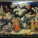 Иванова А.Н. Зима. 1993 г. Государственный музей Палехского искусства. Фото Тать