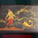 Вакуров И.П. Сказка о рыбаке и рыбке. 1944 г. Государственный музей Палехского и