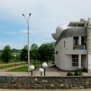 Нижегородский планетарий. Вид с площади перед зданием цирка
