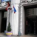 Центральный универмаг. Вход в старое здание