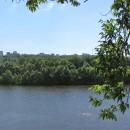 Окская набережная. Панорама от Канавинского моста до метромоста