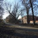 Сквер на ул. Марата, Нижний Новгород. Фото А. Травницкого, 2009 г.