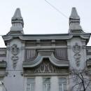 Кадуцей Гермеса – элемент декора на доме Дюршмидта