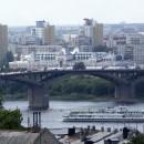 Канавинский мост и главный ярмарочный дом. 2010 г.