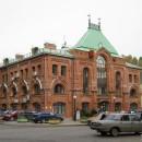 Бизнес-центр на ул. Мануфактурной. Вид с ул. Должанской. Фото Т. Шепелевой, 2011