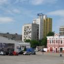 """На территории ВЗАО """"Нижегородская ярмарка"""". 2010 г."""