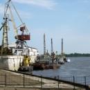 Нижегородский речной порт. 2010 г.