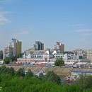 Нижегородская ярмарка. Вид с Канавинского моста. 2010 г.