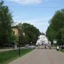 Ярмарочный проезд, Спасский Староярмарочный собор. Май 2010 г.