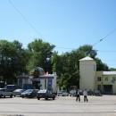 Вход в парк им. 1-го Мая с улицы Чкалова. 2010 г.