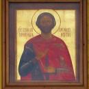 Икона святого благоверного князя Александра Невского над вратами собора
