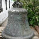 Старинный колокол на территории Спасского Староярмарочного собора. 2010 г.