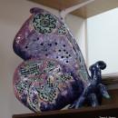 М.А. Абдуллина. Бабочка. Керамика