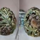 М.А. Абдуллина. Пасхальное яйцо. Керамика