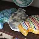 М.А. Абдуллина. Рыбки. Керамика
