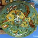М.А. Абдуллина. Декоративное блюдо. Керамика