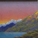 Светлана Морозова. Алатау. 1986. Фоторепродукция Татьяны Шепелевой