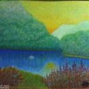 Светлана Морозова. Озеро Рица. 2014. Фоторепродукция Татьяны Шепелевой