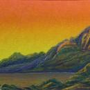 Светлана Морозова. Оранжевое небо. 2001. Фоторепродукция Татьяны Шепелевой