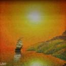 Светлана Морозова. Черное море Абхазии. 1993. Фоторепродукция Татьяны Шепелевой